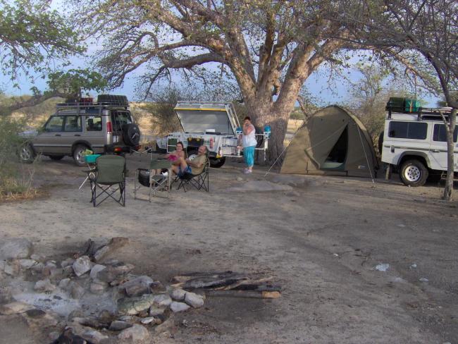 Kamp op Kubu Eiland