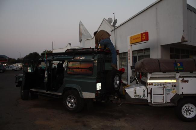 Diesel in Lobatse
