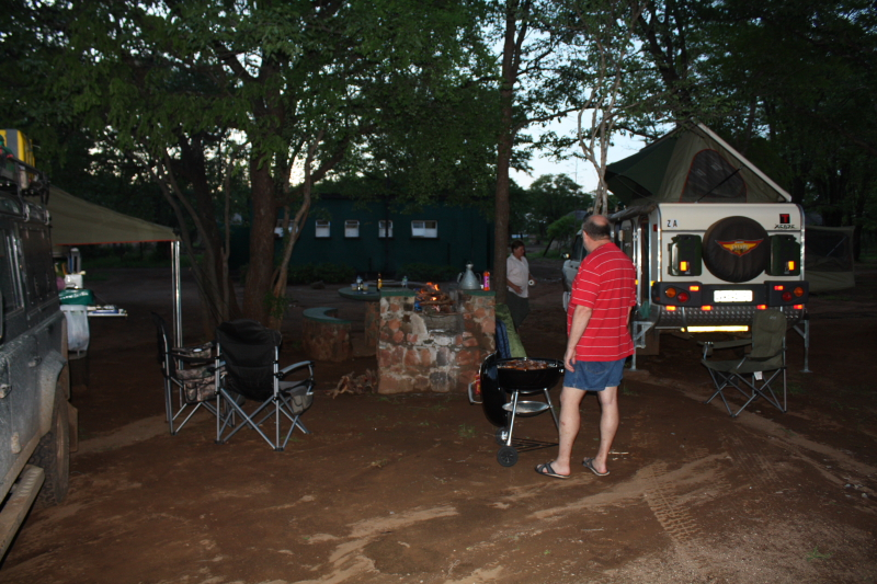 Camping at Robins Camp