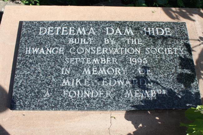 Deteema Dam Hide