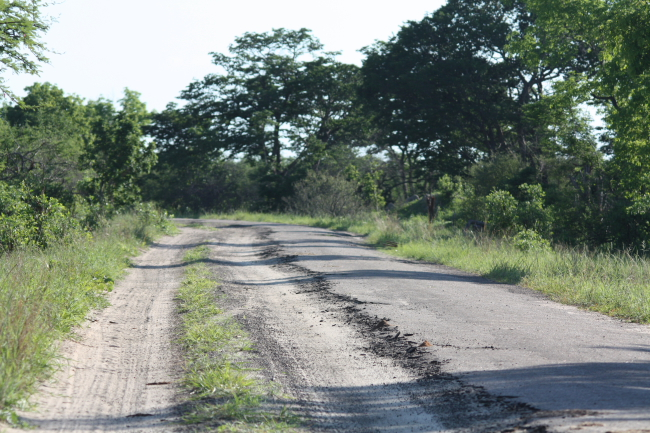 Hwange Main Road - tarred