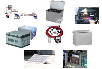 Fridges and dual battery system