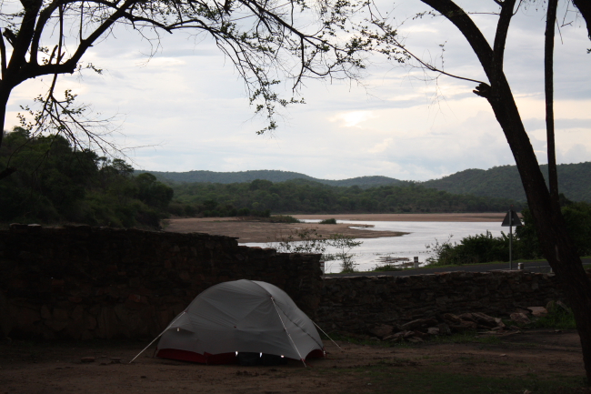 Bridge Camp at the Luanga River – Zambia (19 Dec 2016)