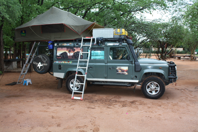 Fitting a rooftop tent