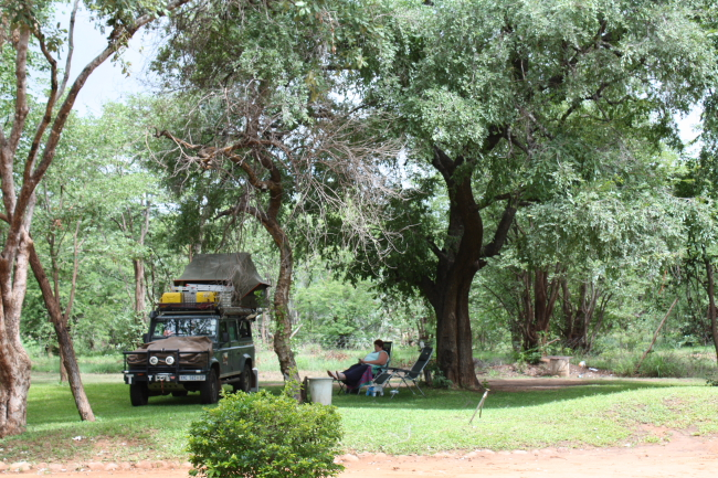 MALAWI 2016 – Day 21: Tuesday 3/1/2017: Camp Eureka to The Bushfront Lodge Livingstone