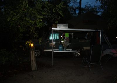 Camping at Nata Lodge