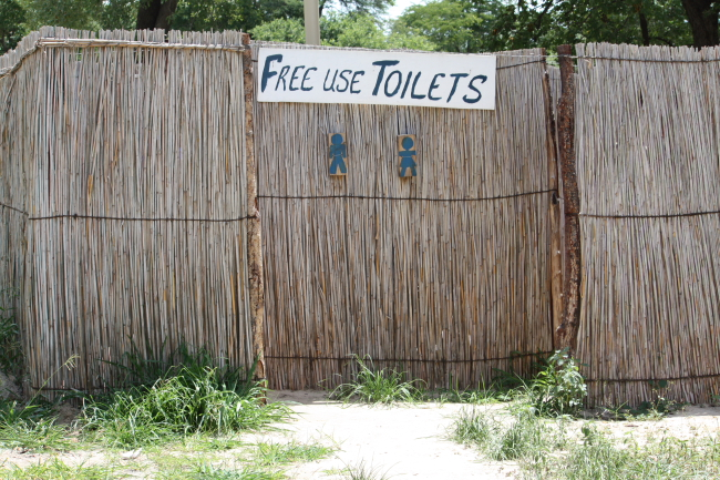 Free use toilets