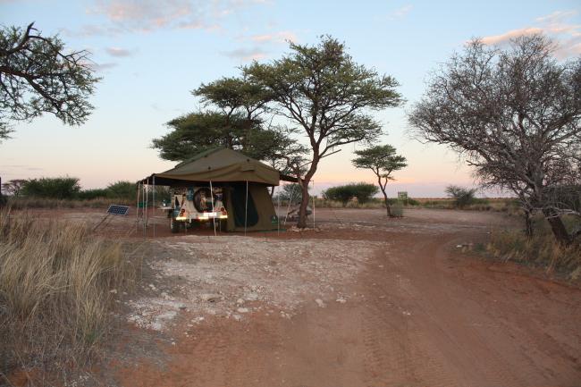Mabuasehube kampplek no 1