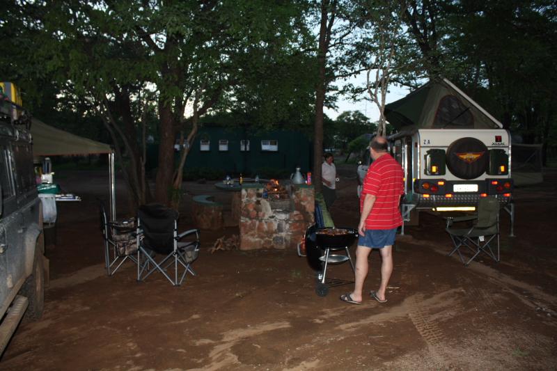 Camping at Robins Camp