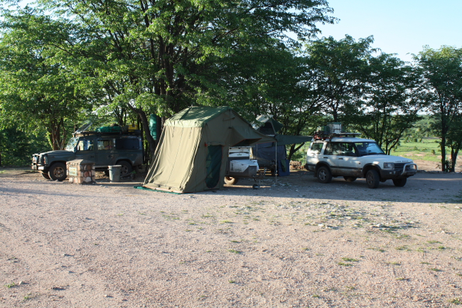 Masuma Dam Camp