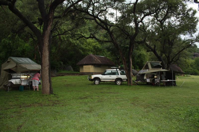 Camping at Matobos