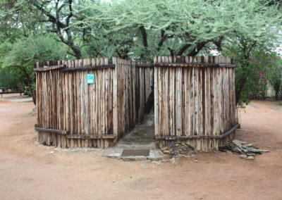Camp Itumelo Shower Cubilcle