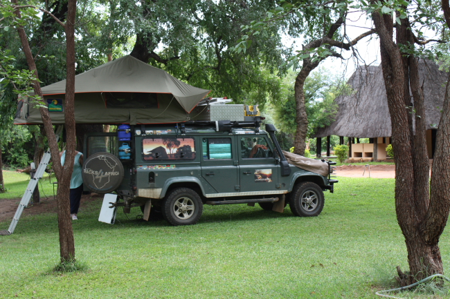 The Bushfront Lodge – Livingstone, Zambia